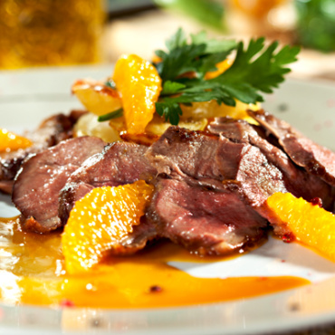 Breast of Duck with Oranges