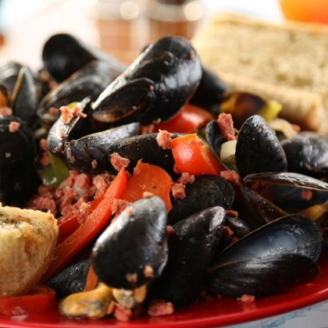 Mussels Portugese